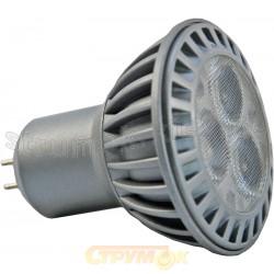 Светодиодная лампа Led Maxus MR 16 3x1 HPLed 3.5W 4100K 220V G5.3 1-Led-226