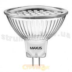 Светодиодная лампа Led Maxus MR16 SMD 1.8W 6500K 220V G5.3 1-Led-202