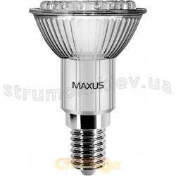Светодиодная лампа Led Maxus 1-Led-112 R50 38 DIP 1.6W 6500K 220V E14