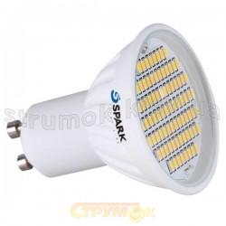 Светодиодная лампа Led SPARK Ceramics 82 SMD JDR 4W GU10 220V 6000K