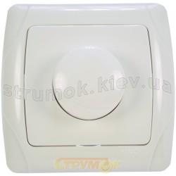 Светорегулятор 1000 Вт Viko Carmen белый цвет