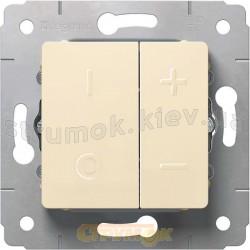 Светорегулятор 600 Вт Legrand Cariva  773715 слоновая кость