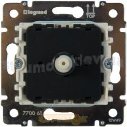 Светорегулятор поворотный 40-400Вт Legrand Valena 770061 белый