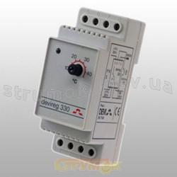 Терморегулятор Devireg 330 для систем снеготаяния  (-10:+10)