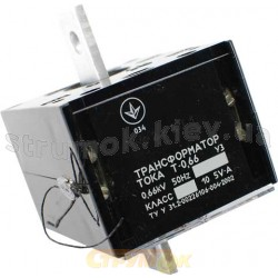 Трансформатор тока Т-0,66 100/5 0.5s (4года)