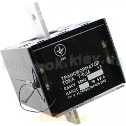 Трансформатор тока Т-0,66 400/5 0,5s (4года)
