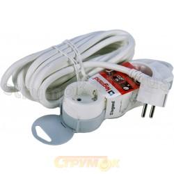 Удлинитель 3ZW/5м Стандарт 695003 3 гнезда с заземлением, шнур 5м Z Legrand