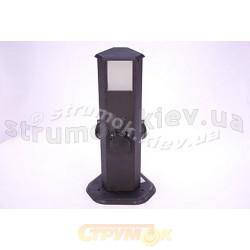 Удлинитель-столбик садовый на 3 розетки с подсветкой EXPERT ECH-GS3/L-Ir-3.6