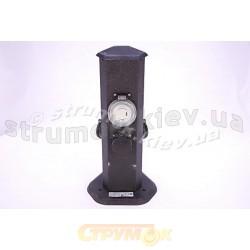 Удлинитель-столбик садовый на 3 розетки с подсветкой и таймером EXPERT ECH-GS3-Ir-3.6-ТМ