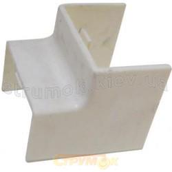 Угол внутренний 40*25 АсКо-УкрЕМ A0070040028 для пластикового кабельного короба
