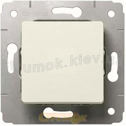 Выключатель 1-клавишный 10А Legrand Cariva 773701 слоновая кость