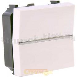 Выключатель 1-клавишный крестовой ABB Zenit N2110 ВL белый цвет