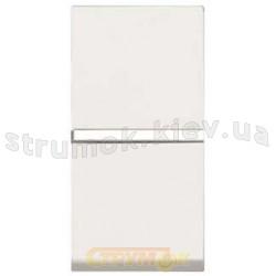 Выключатель 1-клавишный проходной 10A ABB Zenit N2102 ВL белый цвет