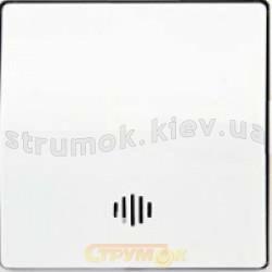 Выключатель 1-клавишный с подсветкой белый цвет GES 2100-015-0101