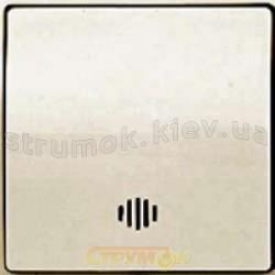 Выключатель 1-клавишный с подсветкой бежевый цвет GES 2100-015-0102