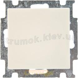 Выключатель 1-клавишный ABB Basic 55 2006/1 UС-92-507 слоновая кость