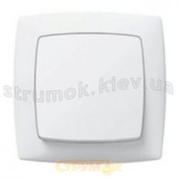 Выключатель 1-клавишный Legrand Suno 774001 белый цвет