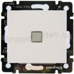 Выключатель 1-клавишный с подсветкой 10А Legrand Valena 774410 белый