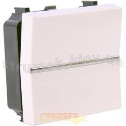 Выключатель 1-клавишный проходной ABB Zenit N2202 ВL белый цвет
