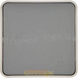 Выключатель 1-клавишный универсальный Legrand Plexo 069511 10А IP55 серый цвет
