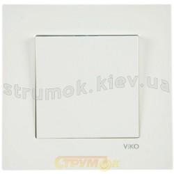 Выключатель 1-одинарный Viko Karre 90960001 белый цвет