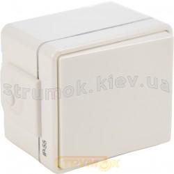 Выключатель однотактовый Hermetica белый 16000602 Polo / Hager