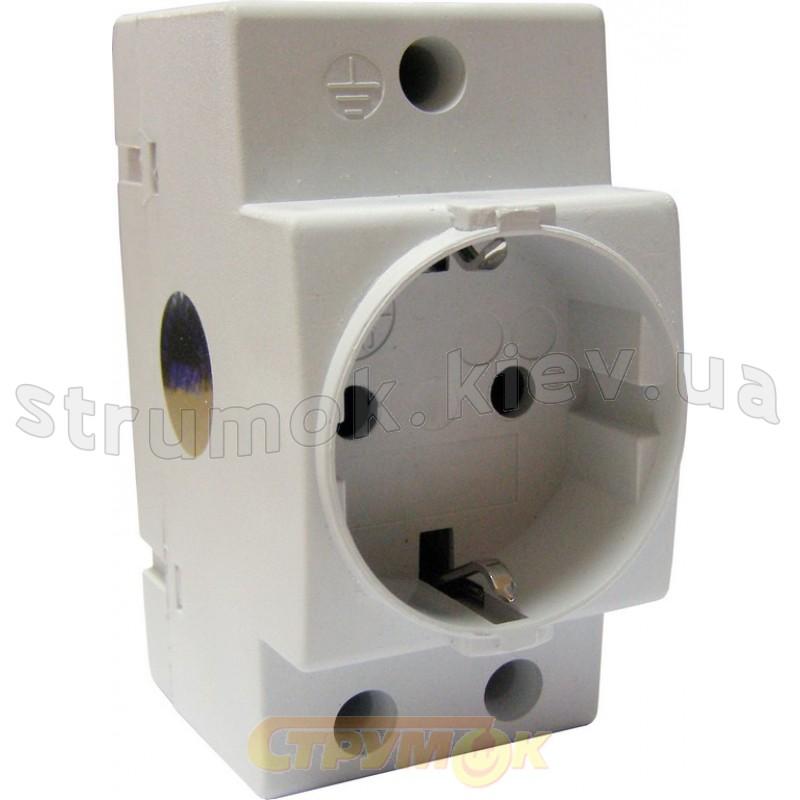 Розетка на Din-рейку ECOHOM SC 16А   250V 2PE ECO080010002 ACKO ... 5a2a3bc1d5d