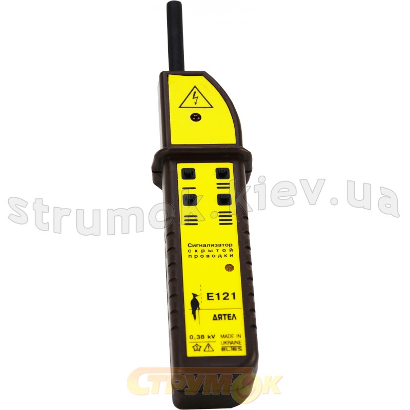 Сигнализатор скрытой проводки е121 дятел 4