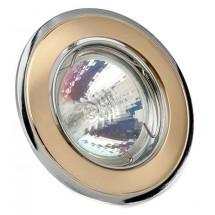 Светильник точечный Delux HDL16002R MR16 12V хром матовое золото
