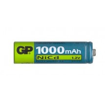 Аккумулятор GP 100ААКС-U2 AA R6 1000 mAh