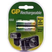 Аккумулятор GP NiMH 1.2V 100AAAHC-CU2 AAA.R03, 1000mA