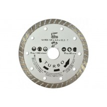 Алмазный диск по бетону, камню TURBO 230 мм 22-808.