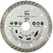 Алмазный диск по бетону камню 115 мм 22-805 Turbo