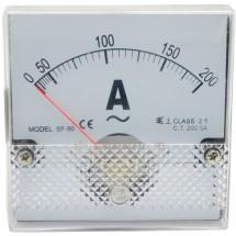 Амперметр АС 200/5 80х80