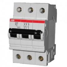 Автоматический выключатель ABB S283 С80А 6кА 3-полюсный GHS2830001R0804