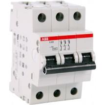 Автоматический выключатель ABB S203 С16А 6кА 3-полюсный 2CDS253001R0164