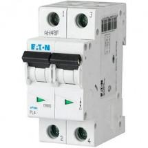 Автоматический выключатель Eaton (Moeller) PL-4 C-40A 4,5кА 293146 2-полюсный