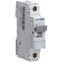 Автоматический выключатель Hager In=16 А D 10kA NDN116 1-полюсный