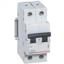 Автоматический выключатель Legrand RX3 10А C 4,5кА 419695 2-полюсный
