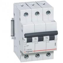 Автоматический выключатель Legrand RX3 10А C 4,5кА 419706 3-полюсный