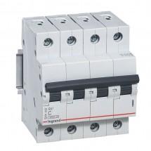 Автоматический выключатель Legrand RX3 10А C 4,5кА 419739 4-полюсный