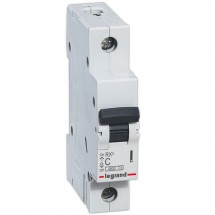 Автоматический выключатель Legrand RX3 20А C 4,5кА 419665 1-полюсный