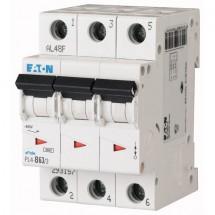 Автоматический выключатель PL-4, 3-полюсный C-63A 4,5кА 293166 Eaton (Moeller)
