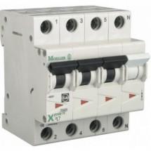 Автоматический выключатель PL7-С25/3N 3+N 10кА 4-полюсный Eaton (Moeller) 263997