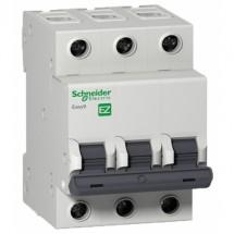 Автоматический выключатель Schneider EASY9 3P 40А С 4,5кА EZ9F34340 3-полюсный