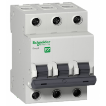 Автоматический выключатель Schneider EASY9 3P 50А С 4,5кА EZ9F34350 3-полюсный