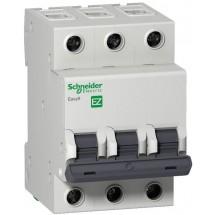 Автомат Schneider EASY9 63А С 4,5кА EZ9F34306 3-п