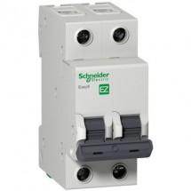 Автоматический выключатель Schneider Electric EASY 9 EZ 2P 50А С EZ9F34250 2-полюсный