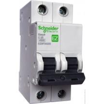 Автоматический выключатель Schneider Electric EASY 9 EZ 2P 63А С EZ9F34220 2-полюсный