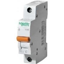 Автоматический выключатель Schneider ВА63 1P-25А С 4,5кА 11205 1-полюсный